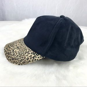 🔥NEW🔥 Forever 21 faux suede leopard cheetah hat